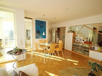 Wohnzimmer Klagenfurt möglich - 115m² 3 Zi Penthousewohnung in Waidmannsdorf