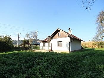Badezimmer Ölheizung Holzlager - Altes Bahnwärterhaus mit Zubau und Garage