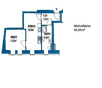 Wohn Lift  - Moderne 2 Zi - Wohnung in der Stadt