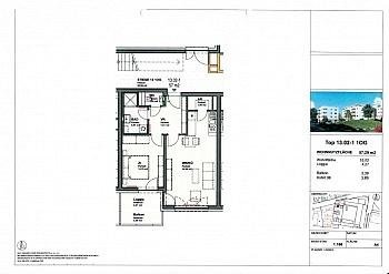 Raffstores erreichbar Fahrradweg - Moderne 2 ZI - Wohnung in Waidmannsdorf