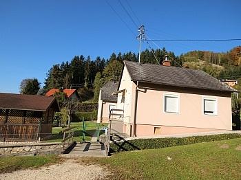 Kleines Massivbauweise Aussichtslage - 2 Wohnhäuser in Wolfsberg mit 1.610m² Topaussicht