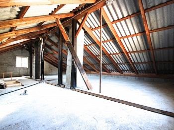 Massivbau Dachboden separater - Ein-/Zweifamilien Wohnhaus Nähe Krumpendorf