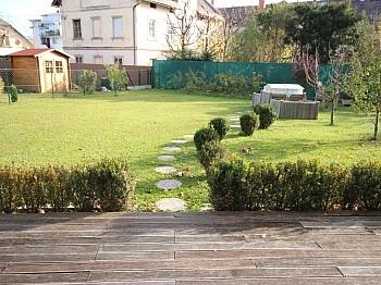 Westterrasse Carportplatz Kellerabteil - Tolle neue 133m² 4 Zi Gartenwohnung - 225m² Garten