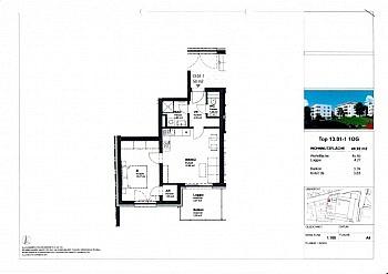 ausgerichtet Wohnfläche Abstellraum - Moderne 2 ZI - Anleger - Wohnung in Waidmannsdorf