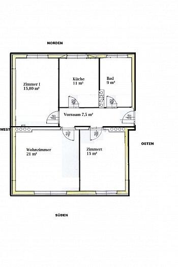 - Komplett sanierte helle 3 Zi-Wohnung in Welzenegg