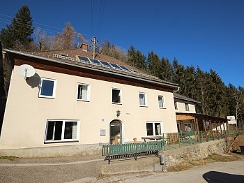 Wohnhaus Nebengebäude Zimmern - 175m² Wohnhaus mit 115m² Nebengebäude - Guttaring