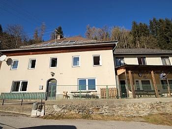 Gasthaus Wohnung Dusche - 175m² Wohnhaus mit 115m² Nebengebäude - Guttaring