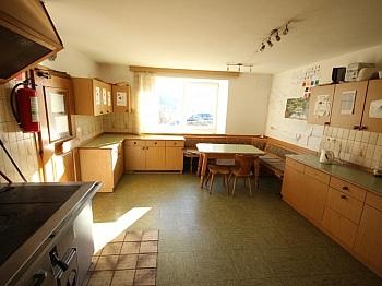Südterrasse bestandsfrei Holzfenster - 175m² Wohnhaus mit 115m² Nebengebäude - Guttaring