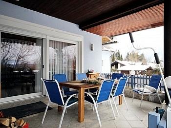 Terrasse Pellets Heizung - Mehrfamilienwohnhaus mit Pool Nähe Pressegger See