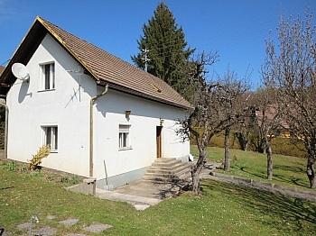 abbruchreifes Südhanglage Obergeschoss - Älteres Wohnhaus mit 2.083m² Grundstück - Wölfnitz