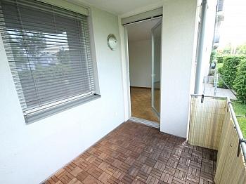 Westbalkon Wohnküche Wohnzimmer - Schöne 3 Zi Wohnung mit Tiefgarage - Görzer Allee