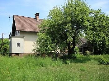 vorbehalten Änderungen Erdgeschoss - Älteres Wohnhaus mit 1.185m² Grundstück - Feschnig