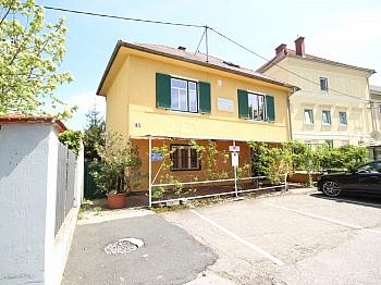 Grundstück Klagenfurt Älteres - Älteres Wohn- und Geschäftshaus in der Stadt