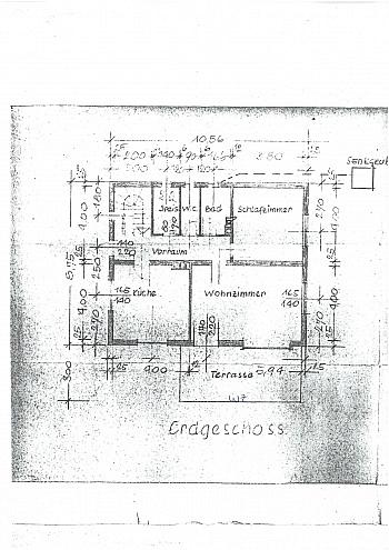 Küche Balkon ruhige - Großes Wohnhaus mit Pool - Nähe Glanegg