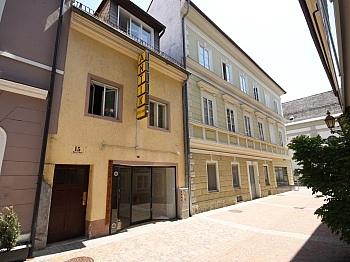 Flächenangaben Geschäftslage Fliesenböden - Wohn- und Geschäftshaus 125m² in der City