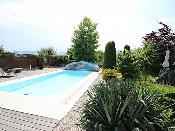 parkähnliche Teilmöbliert Poolumrandung - Wunderschönes junges Haus Nahe OBI, 9560