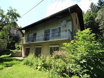 Velden Nebengebäude Wörthersee - Älteres 200m² Wohnhaus mit 2,88 Ha Grund in Velden