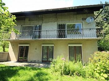 Tenne altes Plan - Älteres 200m² Wohnhaus mit 2,88 Ha Grund in Velden