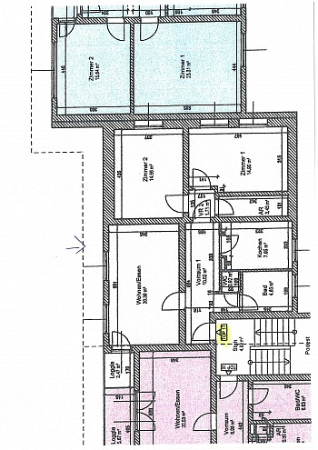 - 3 Zi Wohnung 81m² in Maria Saal - Ratzendorf