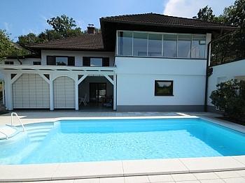 Zimmer Pool Zweifamilienwohnhaus - TOP 335m² Wohnhaus in St. Georgen am Sandhof
