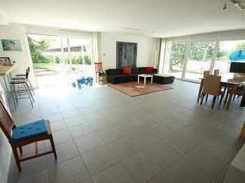 Südterrasse Änderungen Stiegenhaus - 180m² 4 Zi Gartenwhg mit Pool - Georgen am Sandhof
