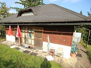 Ferienhaus Kleines Küche - Kleines 30m² Wohn-Ferienhaus am Zwanzgerberg