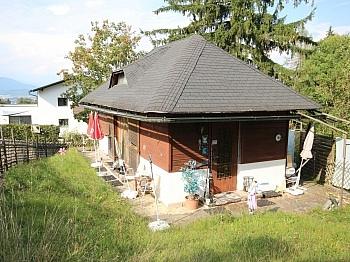 Änderungen Eckparzelle Klagenfurt - Kleines 30m² Wohn-Ferienhaus am Zwanzgerberg