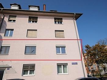 Gewähr saniert Aussen - Sanierte 2,5 Zi Wohnung 59m² in der Gasometergasse