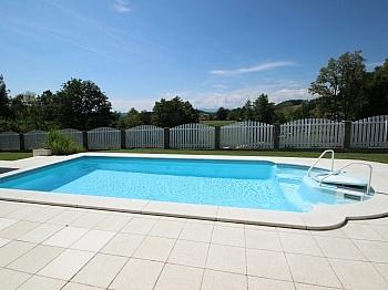 Nutzwertgutachten Terrassenflächen Fußbodenheizung - 180m² 4 Zi Gartenwhg mit Pool-St. Georgen/Sandhof