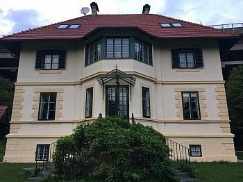 Garten Blick Pool - 240m² Villa mit Garten in Krumpendorf