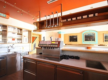 Stehplätzen ausgestattet vorgesehene - Schöner Gastronomiebetrieb mitten in Rosegg
