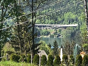 Aussichtsweg durchgehend Auenstraße - Baugrundstück mit Panoramablick in Schiefling