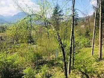 Grundstückgrenze Wasserversorgung Karawankenblick - Baugrund 1.226m² in Maria Rain - Unterguntschach