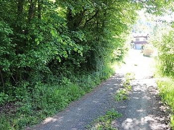Kanalnetz vorhanden Baugrund - Baugrund 1.226m² in Maria Rain - Unterguntschach