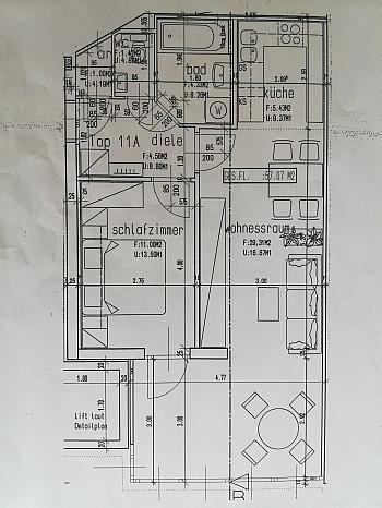 Nähe Super freie - Schöne 2 ZI - Wohnung in Waidmannsdorf