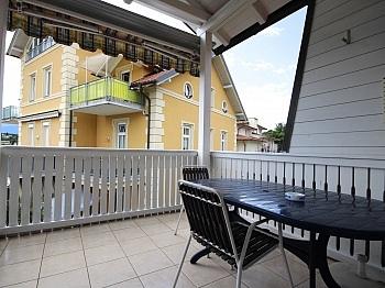 Badezugang Waschtisch Westbalkon - 3-Zi-Wohnung mit Badezugang in Velden/Zentrum