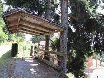 überdachter Westterrasse Grundstück - Neuwertiges schönes 125m² Wohnhaus in Himmelberg