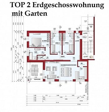Fachverglasung unmittelbarer Zentrumsnähe - Tolle neue 4 Zimmer Gartenwohnung in Viktring