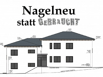 Viktring Terrasse Carportplatz - Tolle neue 4 Zimmer Gartenwohnung in Viktring