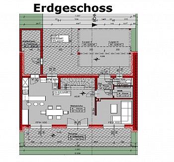 Infrastruktur hochwertigste Außenfläche - Viktring-hochwertiges-leistbares Mittelreihenh.