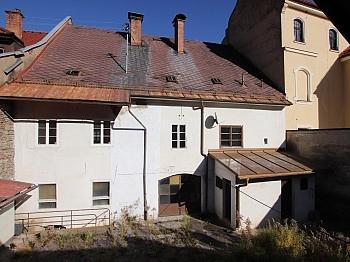 Geschäftshaus Dachgeschoss Räumen - 300m² Wohn-und Geschäftshaus im Zentrum - Friesach