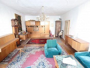 Grundstück Einzelöfen Holzfenster - 300m² Wohn-und Geschäftshaus im Zentrum - Friesach