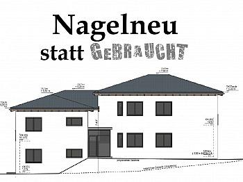unüberdachte Kellerabteil überdachte - Schöne neue 4 Zimmer Gartenwohnung in Viktring