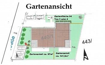 unmittelbarer Gartenwohnung Überdachung - Tolle neue 4 Zimmer Gartenwohnung in Viktring