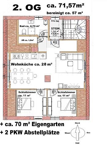 - Viktring - tolle 3-Zimmerwohnung - Erstbezug!