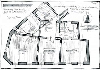 Gewähr Bindung Plätze - Helle 4-Zi-Wohnung in Zentrumslage/Klagenfurt