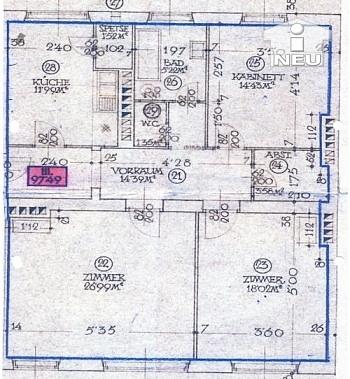Vorraum großes saniert - Günstige 100m² Wohnung - Heinzgasse € 80.000,--