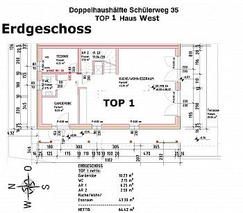 Kanal Müll Haus - Welzenegg/leistbare, hochwertige Doppelhaushälfte
