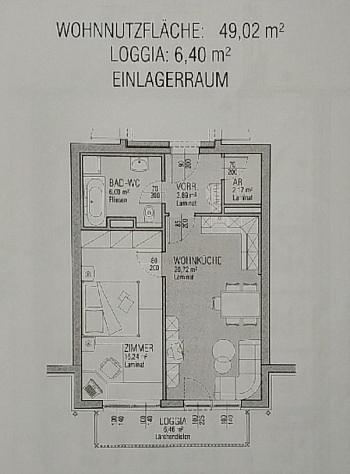 - Junge 50m² 2 Zi Wohnung mit Balkon am Stadtrand