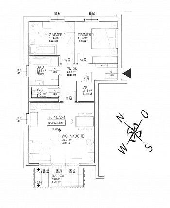 - Schöne junge 3 Zimmerwohnung nahe XXXLutz